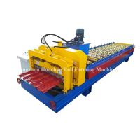 Cheap 1250 Width Panel Glazed Tile Roll Forming Machine For Steel Construction wholesale