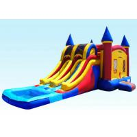 Cheap 29Ft Dual Lane Inflatable Castle Combo For Kids 29L x 13W x 14H wholesale