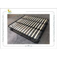 Buy cheap Double Deck Iron Bed Frame with King Size Queen Size Twin Single Size Knock Down from wholesalers