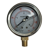 Cheap Hydraulic Pressure Gauges, 15,000 psi, 1000 bar wholesale