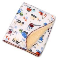 Cheap Eco - Friend Customized Lightweight Polyester Baby Blanket Warped Knitting wholesale