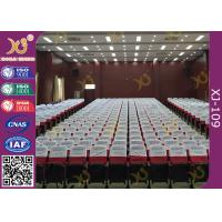 Cheap Medium Back Auditorium Chairs With Writing Board / High Rebound Sponge Inner Material wholesale