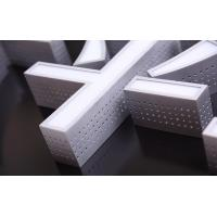 Cheap Aluminum Metal Side LED Channel Letters Sign Outdoor Decoration Trademark wholesale