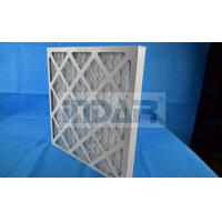 China Energy Saving Commercial Pleated Air Filters HVAC Low Pressure Loss In Initial Period on sale