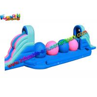 Cheap Amusement Park Inflatable Sports Games Sport Wipe Out Ball Challenge With PVC wholesale
