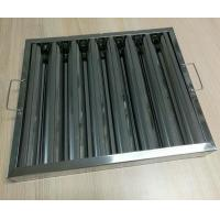Cheap Indoor Baffle Grease Filters Stainless Steel Baffle Filters For Commercial Hoods wholesale
