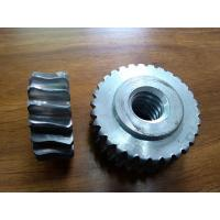 Cheap Customized Precision forged metal worm Gear Hobbing Services support  zinc plated wholesale