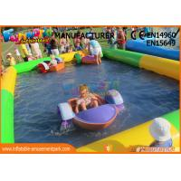 Cheap 0.9mm PVC Tarpaulin Inflatable Blow Up Swimming Pools For Children wholesale