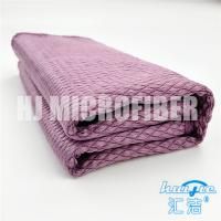 Microfiber square 80% polyamide and 20% polyester piped household knitted french towel