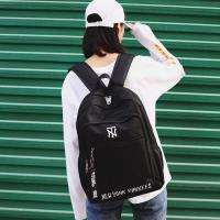 Cheap Korean version of cool letters backpack students fashion large capacity schoolbag waterproof casual backpack girl wholesale