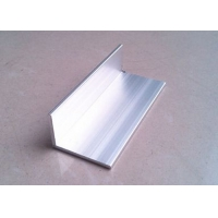 China Extruded Aluminum Angl Unequal Leg 40mm x 74mm x 4mm Wall Thickness for Machinery Usage on sale