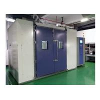 Cheap Walk In Temperature Humidity Test Chamber , Inner Volume 8 Cubic Constant Temerature Room wholesale