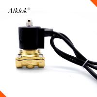Cheap Electric Water Valve Waterproof , Stainless Steel Solenoid Valves For Water wholesale