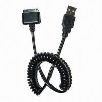 Cheap Cable for iPod/iPhone/iPad, with Data Transmitting and Charging wholesale