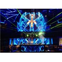 Cheap Advertising LED Video Wall Rental with 1/16 Scan / Constant Current Driving wholesale