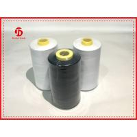 Cheap Bright 100% Polyester Staple Fiber Material Polyester Sewing Thread For Knitting wholesale