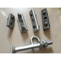 Cheap Durable Power Line Fittings Galvanized Steel Anchor Bolt 5/8 3/4 Length High Strength wholesale