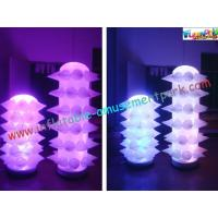 Cheap New Design LED Event Inflatable Lighting Balloon Decoration Tusk for Party wholesale