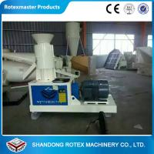 Cheap Wheat Straw Flat Die Wood Pellet Machine To Produce Fuel Pellet For Biomass Boiler wholesale