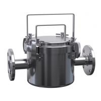 Buy cheap SS304/SS316L JTGCX Magnetic Fluid Filter Sanitary Filter Housing for Ice cream, Milk Filtering from wholesalers