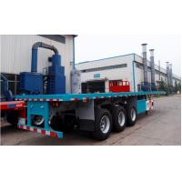 Buy cheap 3 axle 40ft flatbed container trailer truck -CIMC VEHICLE from wholesalers