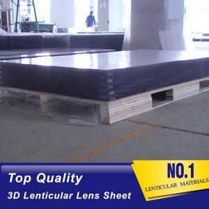 Cheap 25 lpi lenticular sheet 3d PS lenses-large format lenticular plastics lens-1.2*2.4M standard lenticular board panel wholesale