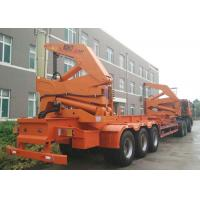Cheap CIMC 40ft side loader trailer container sideloader trailer with tri axles for sale wholesale