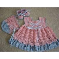 Cheap Soft Shell 100% cotton poplin knitted baby dress, cute baby outfits for summer wholesale