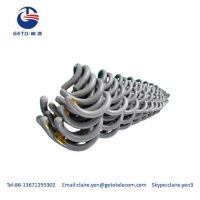 Cheap 6mm Aerial Fiber Optic Cable HR Vibration Dampers wholesale