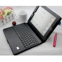 Cheap Customized Compact flexible Ipad 2 Leather Bluetooth Keyboard Case With Solar Charger  wholesale