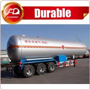 Cheap Factory Make 2 axles LPG trailer ASME standard 40 CBM LPG tank trailer low price used LPG tank trailer wholesale