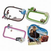 Cheap Magnetic photo frames, measures 170x110mm, customized shapes are accepted wholesale