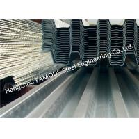 Cheap 1.2mm Gauge Galvanized Steel Decking Formwork to Bottom of Concrete Slab wholesale
