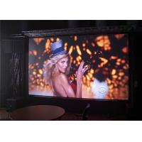 Cheap P6 1R1G1B LED Screen Panel for Indoor , Flexible LED Curtain Display wholesale