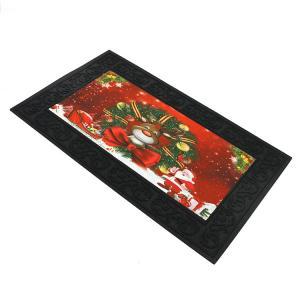 Cheap Musical Door Mat Christmas Design Outdoor Mat Rubber backing Anti-Slip Mat wholesale