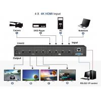 China 4 in 4 out Matrix Seamless switch and support 2*2 video wall on sale