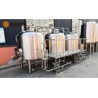 Cheap PLC Control Microbrewery Brewing Equipment With steam heating for brewpub wholesale