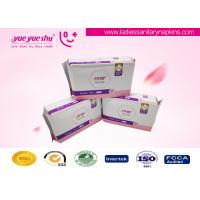 Cheap Ladies Use High Grade Sanitary Napkins , Pearl Cotton Surface Menstrual Period Pads wholesale