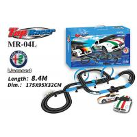 Cheap 1:64 Scale Analog System Licenced Toy Race Car Track Sets 13M Length Age 8 And Up Boys wholesale