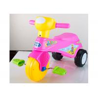 Cheap Colorful Plastic Kids Ride On Toys Tricycle Balance Sliding With Removable Pedal wholesale