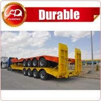 Cheap Shandong Fudeng Heavy Duty 3Lines 4Lines 6Axles 8Axles 100-120Tons Lowbed Truck Semi Trailer wholesale