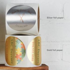 Cheap Custom Self Adhesive Sticker Printing Round Circular Food Label Sticker wholesale