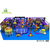 Cheap Pre - School Play And Party Indoor Playground , Indoor Bouncing Playgrounds wholesale