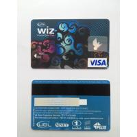 Cheap Bank's visa smart card with hico - magstripe and standard hologram wholesale