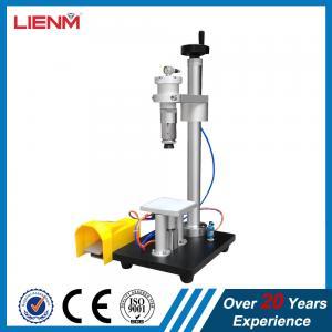 Cheap Guangzhou Semi automatic Perfume Spray Cap Sealing Machine 15mm, 16mm, 21mm, 17mm, 19mm, 13mm wholesale
