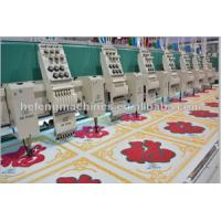 Cheap 12 Heads Mixed Chenille and Flat Embroidery Machine , Towel / Tuft / Chain-stitch Embroidery Machine wholesale