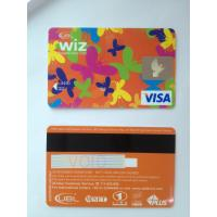 Cheap Prepaid custom visa smart debit card in butterfly design standard size wholesale