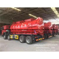 Cheap 18000 litres howo 8x4 sludge suction truck  Euro 4   Cell: 0086 152 7135 7675 wholesale