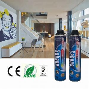 Cheap 600ml Polyurethane Foam Cleaner , Spray Foam Gun Cleaner For Removing Stain wholesale