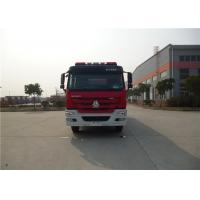 Cheap 380HP Engine Power Motorized Fire Truck With Water Pump Transmission System wholesale